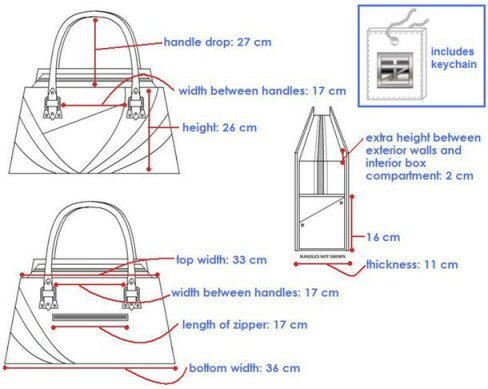 Fashion Design Technical Drawing Sample 4